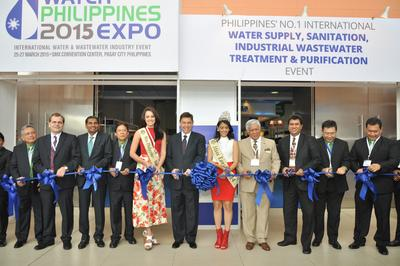 Senator of the 16th Congress of the Philippines Officiates Water Philippines 2015