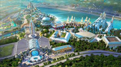 Official Groundbreaking of Shanghai Haichang Polar Ocean Park