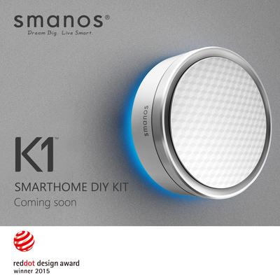 Smart Home Guru smanos to Release Wireless K1 DIY Kit Soon
