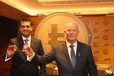 Co-founders, Dan Andersson and Atif Kamran, introduced the launching of LEOcoin as a digital revolution​.