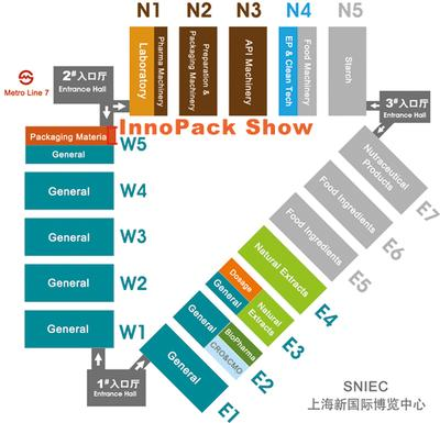 InnoPack Show Map