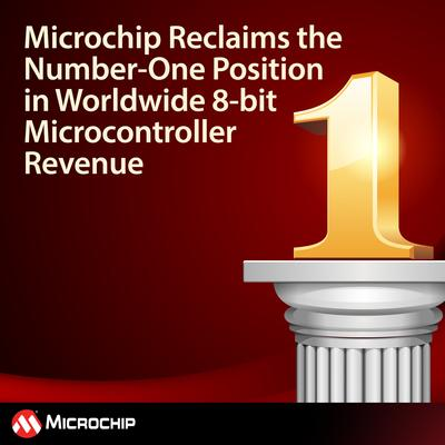 Microchip Reclaims Top 8-bit Microcontroller Revenue Ranking