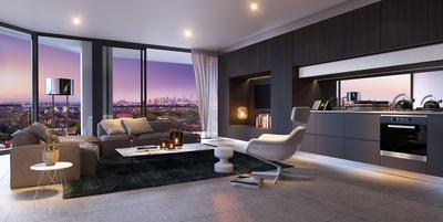 Australian property developer Crown Group's latest residential development Crown Ashfield will offer stunning views of Sydney's skyline. Apartments will be launched for sale on May 23.