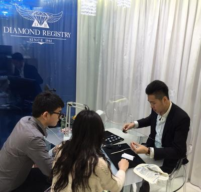 Meet Diamond Registry's Newly Renovated Diamond Jewelry Showroom in Central Hong Kong