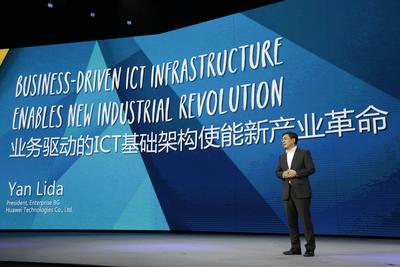 Huawei Introduces its Business-Driven ICT Infrastructure Guiding Principle at Huawei Network Congress 2015