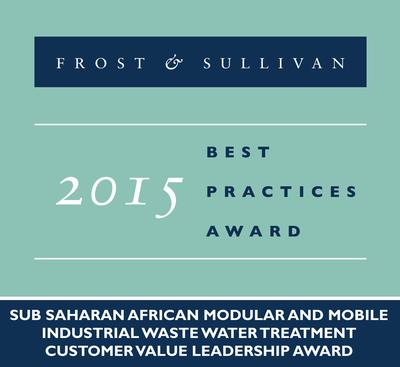 Frost & Sullivan Acclaims NuWater in the Modular and Mobile Industrial Waste Water Treatment Market