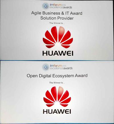 Huawei Wins the 2015 TM Forum Excellence Awards in the Open Digital Ecosystem, Agile Business & IT Category