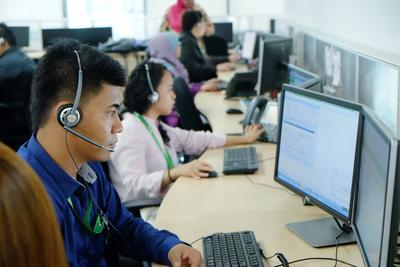 NCR's Asia Services Centre in Bangsar South City,  supports customers round the clock in 11 Asian languages