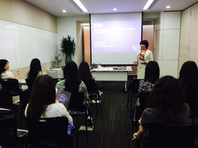 MBS China Centre Presented at Unilever North Asia Talent Learning Week