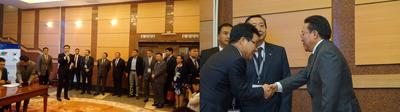 Execution of the MOU to Cooperate on the Export of Sharyn Gol JSC's Washed Coal to South Korea; Ikh Tenger Presidential Complex, Ulaanbaatar, Mongolia. June 19th, 2015; President of Mongolia Ts.Elbegdorj and other esteemed Mongolian dignitaries witnessed the signing of the Memorandum of Understanding.