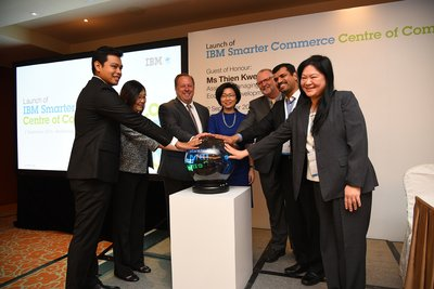 IBM and the Singapore Economic Development Board Launch the IBM Smarter Commerce Centre of Competency