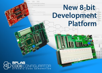 Microchip Continues Driving 8-bit MCU Evolution with Innovative New Development Platform