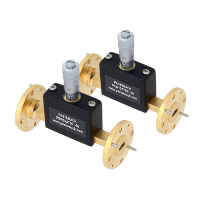 Pasternack Debuts New Millimeter Wave Continuously Variable Waveguide Attenuators with Performance Up to 110 GHz