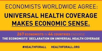 267 Economists Worldwide Agree: Universal Health Coverage Makes Economic Sense