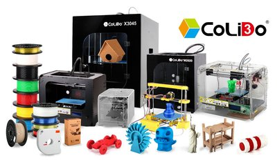 CoLiDo 3D printers and filament are now available in www.colido.com.