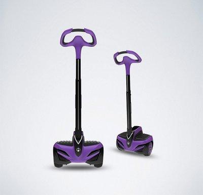 乐行定制紫色平衡车献礼诗琳通公主六十大寿