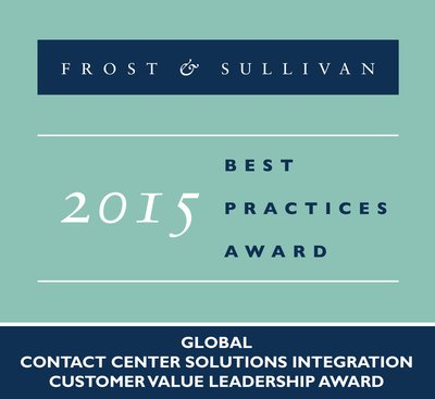 Frost & Sullivan Honors Dimension Data's Commitment to Customer Value in the Global Contact Center Solutions Integration Market