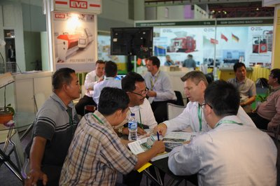 Buyers and Exhibitors connect at Concrete Show South East Asia