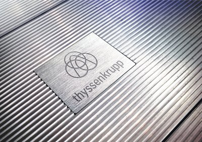 thyssenkrupp with new brand identity -- common brand for all Group companies