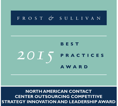 Frost & Sullivan Recognizes Alorica for Catapulting into a Leadership Position Within the BPO Industry