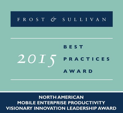 Google Earns Top Honors from Frost & Sullivan for its Vision in Developing Innovative 'for Work' Android Solutions