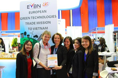 A Successful Green Technologies Trade Mission at the RE & EE Vietnam 2015 Exhibition.