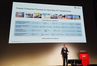 Huawei to Showcase Products and Solutions at CeBIT 2016 Designed to Transform Businesses' ICT Operations