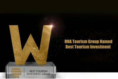 HNA Tourism Named Best Tourism Investment Group at 2016 World Tourism Forum