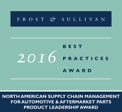 Frost & Sullivan Presents ToolsGroup with Award for Boosting Supply Chain Capabilities for Automotive and Aftermarket Parts Market