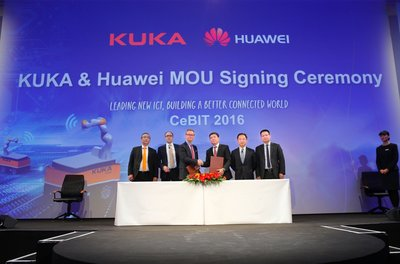 Huawei and KUKA Partnership to Accelerate New Opportunities in Smart Manufacturing