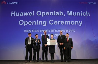 Huawei Unveils Munich Openlab to Accelerate Digital Innovation and Industry Ecosystem in Europe