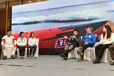 "At a forum entitled ""Set Sail for Low Carbon Life"", held during the Qingdao stopover for the Clipper Race, the link between climate change, children and water was highlighted. The panel, which included famous Skipper of Guo Chuan Racing, UNICEF Clipper Race Skipper Martin Clough showcased how young people could be a catalyst for action on how to address environment challenges."