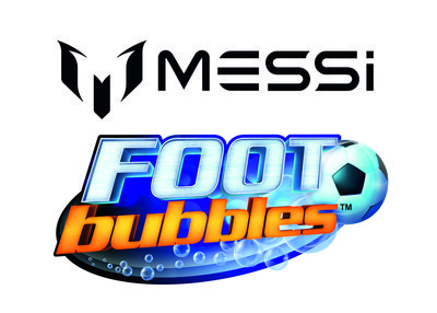 Meet Lionel Messi by Juggling Messi FootBubbles
