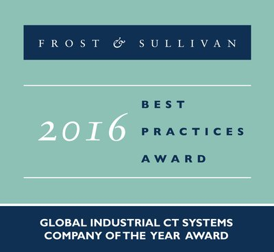 GE Inspection Technologies Earns Top Honors from Frost & Sullivan for Leading the Industrial CT Systems Market with Innovative, Value-added Products