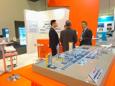 Display of Jereh's Micro LNG Solution
