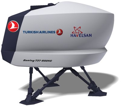 Turkish Airlines Pilots To Fly With HAVELSAN Simulator