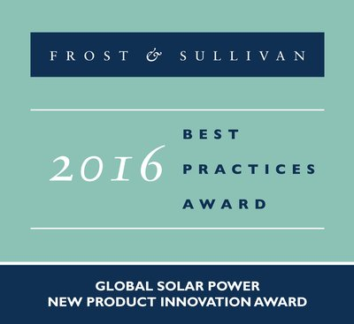 Frost & Sullivan Applauds Global Solar Trading's Commitment to Product Innovation with the Launch of its Honeywell Solar Modules