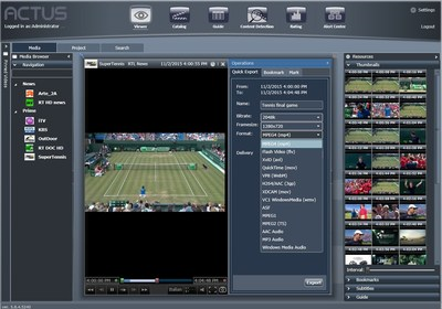 Actus broadcast monitoring and logging system has been deployed by Cignal TV in the Philippines