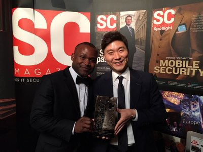 Penta Security's Global Business team received the award last week in London.