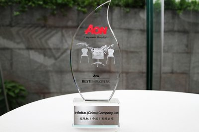 Infinitus Wins Aon Hewitt's 'Best Employer - China' Award for the Fourth Time
