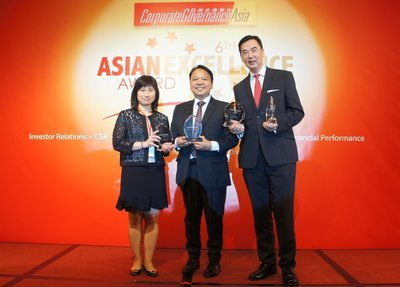 Hang Lung Scoops Asian Excellence Recognition Award for Five Consecutive Years