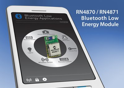 Microchip Announces Next-generation Bluetooth(R) Low Energy Solutions with Easy-to-use Interface and Embedded Scripting Capability