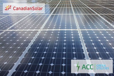 Asia Clean Capital and Canadian Solar to Co-Develop 200 MW Solar Pipeline