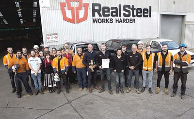 Real Steel New Zealand wins Hardox Wearparts Award