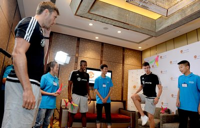 Manchester United and UNICEF champion rights of adolescents