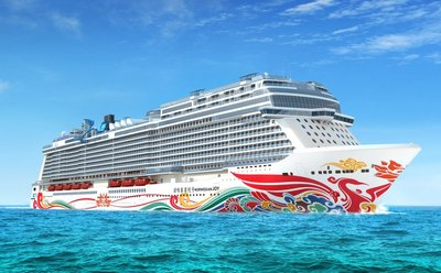 Norwegian Cruise Line's First-ever Ship for China to Feature Custom Artwork by Chinese Artist Tan Ping