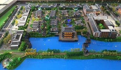 开封包公湖维景国际酒店项目沙盘