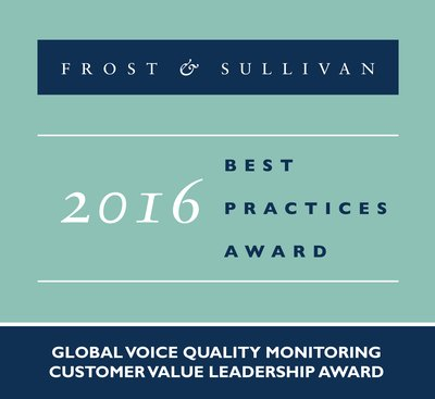 Frost & Sullivan Commends Voipfuture's Offer of a Voice Quality Monitoring Solution that Measures Service Experience to Gauge Network Performance
