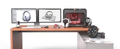 The new MakerBot Print software helps streamline the 3D printing preparation process for users