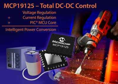 Improve Digital Support of Battery Charging and DC-DC Conversion Applications with New Digitally Enhanced Power Analog Controllers from Microchip